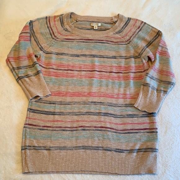 Sonoma Striped Knit Sweater